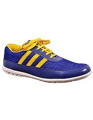 Aureno Men's Synthetic Sneakers - B011BFXONC