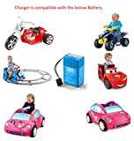 Fisher-Price Power Wheels Junior 6-Volt Rechargeable Replacement Battery