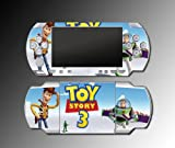 Toy Story 3 Buzz 2 Lightyear Woody Video Game Vinyl Decal Skin Protector Cover Kit for Sony PSP 1000 Playstation Portable