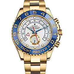 Rolex Yacht-Master Ii Yellow Gold Watch 116688 Box/Papers Unworn 2016