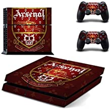 Elton Arsenal Emblem Theme Skin Decal Sticker For PS4 Console Controller