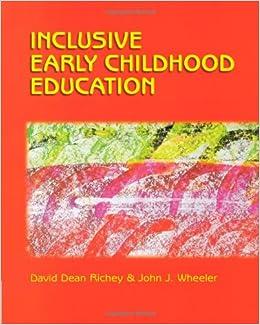 Amazon.com: Inclusive Early Childhood Education: Merging