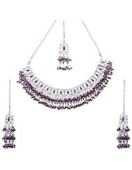 Kisan Jewellers Designer Necklace Set For Women (HSAN/69)