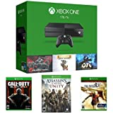 Xbox One 1TB Console - 3 Games Holiday Bundle + Call of Duty: Black Ops III + Assassin's Creed Unity + Final Fantasy Type-0 HD