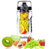 Infuser Water Bottle, Mudder Large 32 Oz Sport Fruit Infused Water Bottle - Enjoy Your Own Vitamin Water, Juice...