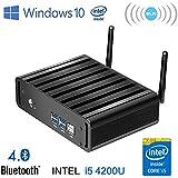 Micro PC Intel Core I5 Windows 10 Smart TV Box Mini Desktop Computer (Barebones, Intel Core I5)