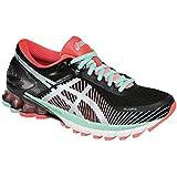 ASICS Women S GEL-Kinsei 6 Running Shoe Black/Silver/Flash Coral 11.5 B(M) US