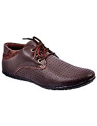 Aureno Men's Synthetic Sneakers - B011BGFV82