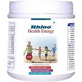 Rhino HEALTH ENERGY-Herbal Nutritional Drink Having Soy Protein- 500 Grams (Pack Of 2 Boxes)