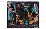 Monster High, 13 Wishes, Desert Fright Oasis Playset with Cleo De Nile Doll