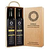 Domus Finca La Trastada Aceite de Oliva Virgen Extra, Variedades Picual y Cornicabra - Paquete de 2 x 500 ml - Total: 1000 ml