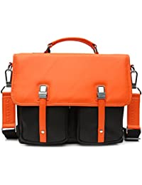 Areeehanz Chic Collection Genuine Leather Messenger Bag With Four 4 Free Gifts