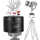 360° 写真撮影自動回転雲台 三脚自由雲台 パノラマボール付き、IPhone 6 Plus, GOPRO 4/3+, Canon/ Nikon/ Sonny/Pentax DSLR カメラに適用 (Sevenoak SK-EBH01)