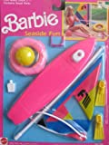 Barbie SEASIDE FUN Playset w WIND SURFING SAIL BOAT & More! (1989 Arco Toys, Mattel)