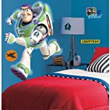 RoomMates Toy Story Buzz Giant Peel And Stick Wall Decal (Multi Color)