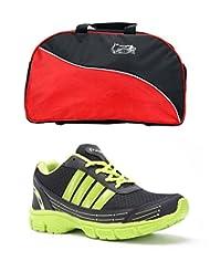 Elligator Shoes And Stylish Travel Bag - B00XJKA76A