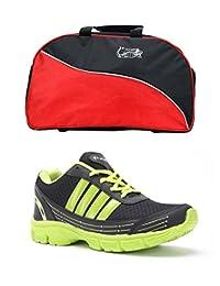 Elligator Shoes And Stylish Travel Bag - B00XJKA3YQ