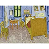 Tallenge Old Masters Collection - Van Gogh Bedroom By Vincent Van Gogh - A3 Size Premium Quality Rolled Poster