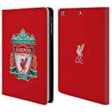 Official Liverpool FC LFC Red 1 LFC Crest 1 Leather Book Wallet Case Cover for Apple iPad Mini