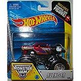 Avenger #60 Hot Wheels Off-Road Monster Jam 2014 Includes Monster Mini Figure 1:64 Scale