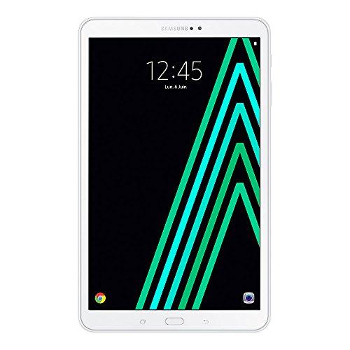 "Samsung Galaxy Tab A Tablette tactile FHD 10"" Blanc (Octo Core, 2 Go de RAM, disque dur 16 Go, Android 6.0)"
