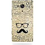 AlDivo Premium Quality Printed Mobile Back Cover For Sony Xperia SP / Sony Xperia SP Back Case Cover (MKD150)