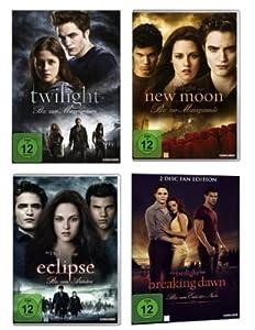 Twilight 1-4 Teile 1+2+3+4.1 - 4DVDs Kristen Stewart