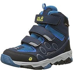 Jack Wolfskin Unisex-Kinder Mtn Attack 2 Texapore Mid VC K Trekking-& Wanderhalbschuhe, Blau (Glacier Blue 1121), 34 EU