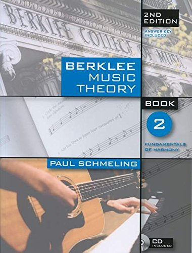 Berklee Music Theory Book 2 (Book/Cd) 2nd Edition