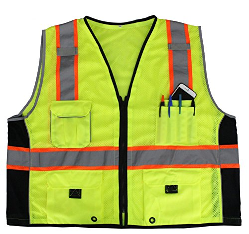 First Class Reflective Safety Vest With Pockets (3XL-4XL)