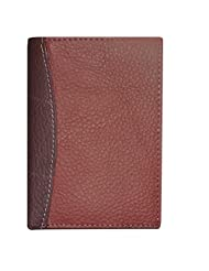 Style 98 Brown Designer Genuine Leather Traveller Card Holder Wallet With 12 Card Slots For Men And Women - B018PIL9X0