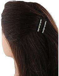 Anuradha Art White Colour Bobby Pin Stylish Hair Accessories Side Pin Stylish Hair Clip For Women/Girls