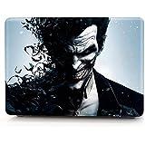 "HRH Joker Arkham Origins Design Laptop Body Shell Protective Rubberized Hard Case For Apple Macbook 15.4"" With..."