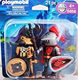 Playmobil Knights 5856 Castle Knights Red Dragon & Black/Gold Knight