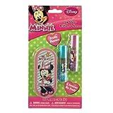Disney Minnie Mouse Bowtique Lip Balm Set With Mini Tin Carrying Case