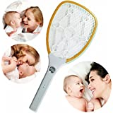 Berry*OFFER FREE 1 PESTON PEST CONTROL WITH INSECT KILLER RACKET*Eco- Friendlly Rechargable Electric Insect Killer, FP-5605 Mosquito Racket, Mosquito Bat Zapper, Swatter, Mosquito Killing Racket - B0749PQTR9