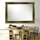Elegant Arts & Frames Antique Gold Wall Decorative Wood Mirror 36 Inch X 24 Inch - B01MY3GJUT
