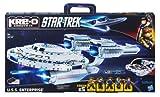 Kre-O A3137 Star Trek U.S.S. Enterprise 432pc Brick Set + 5 Kreon - inc. Spock