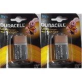 Duracell Alkaline Battery 9v1 Pack Of 2 (2 Cell)