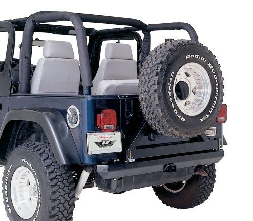 Rampage Jeep 769015 Roll Bar Cover Kit