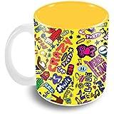 The Crazy Me - Music Doodle Coffee Mug