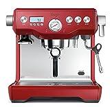 Image of Sage by Heston Blumenthal the Dual Boiler Coffee Machine, 2200 Watt - Red