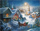 One Horse Open Sleigh 1000. Piece Jigsaw Puzzle by White Mountain Puzzles