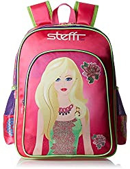 Simba 14 Inches Pink Children's Backpack (BTS-2088)