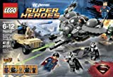 LEGO Superheroes Superman Battle of Smallville (418pcs) Figures Building Block Toys