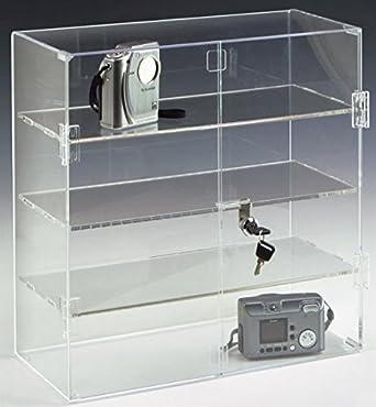 "Amazon.com: Retail Countertop Display Case, 16-1/2""h x 16"