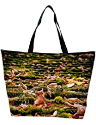 Snoogg Dried Leaves On The Ground Designer Waterproof Bag Made Of High Strength Nylon