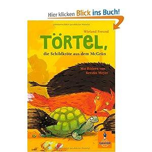 Törtel die Schildkröte aus dem Mc Grün. Berühmte Schildkröten auf Villa Amanda der Schildkrötenblog
