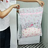 Alcoa Prime Nylon Laundry Bag Net Mesh Hosiery Bra Washing Lingerie Protect Clothes Wash Bags Laundry Saver S/...