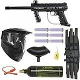 Tippmann 98 Custom Platinum Basic Series Paintball Gun Marker MEGA Set